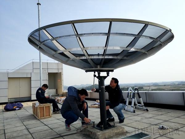 ,广西空管分局气象台经过连续两天奋战,于2月8日顺利完成了葵花图片