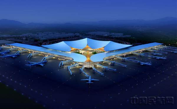 拉萨贡嘎机场t3航站楼设计方案揭晓