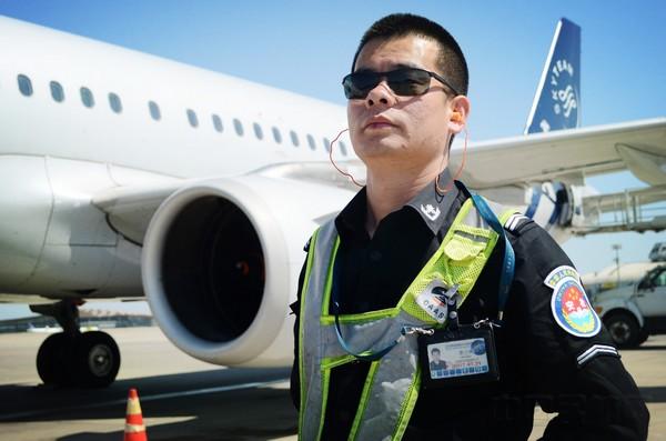 在16年的飞机监护工作里