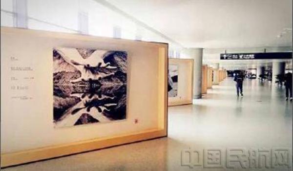 机场艺术长廊 虹桥文化风韵