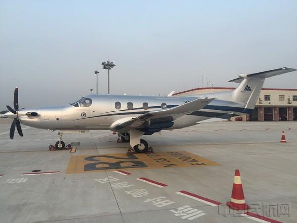 青岛机场便捷通关服务吸引境外公务机在青交付