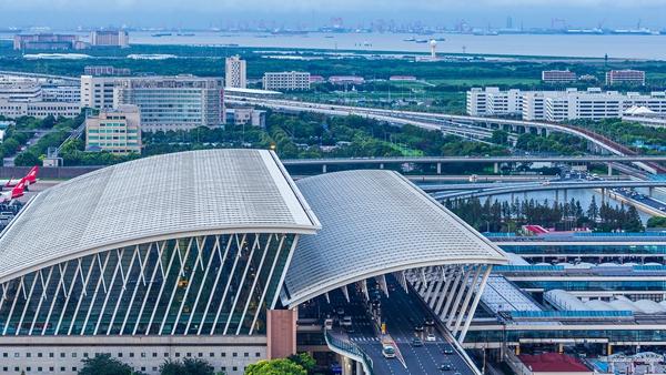 上海最大!浦東機場P4長時停車庫啟用