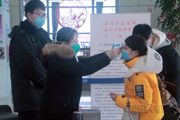 青海机场公司采取积极措施抗击新