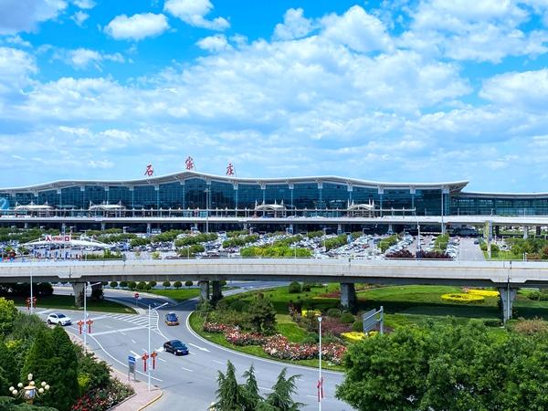 石家莊機場新能源車占比居同層級機場領先水平