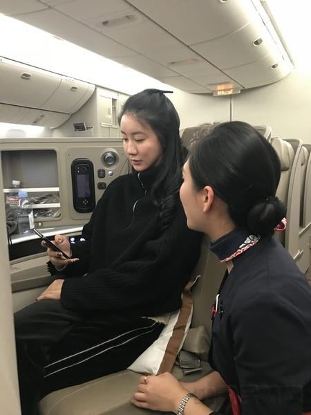 许东航执飞民航首个全程空中开机正式航班(