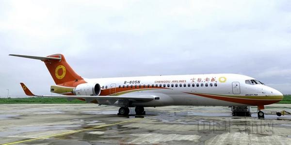 工银租赁交付公司第六架国产ARJ21飞机