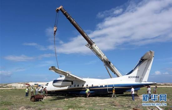 索马里一架轻型飞机降落时发生事故-中国民航网