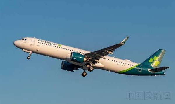 愛爾蘭航空接收其首架遠程型空客A321LR飛機