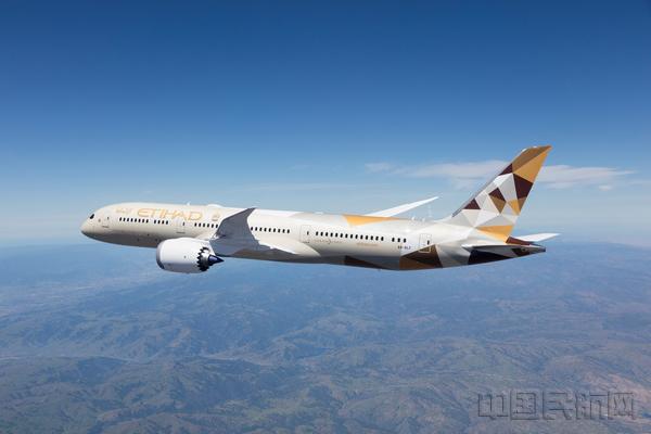 阿提哈德航空復航目的地將增至58個