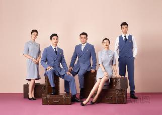 左一、右二為主任(ren)乘務長、左二為窄(zhai)體(ti)機(ji)乘務長、中間為男主任(ren)乘務長、右一為乘務員(yuan)bao)ㄉshen)藍色領帶) .jpg