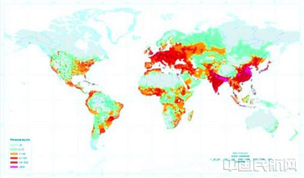 世界人口日_世界人口密集度